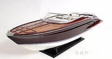 RIVARAMA E.E. Handcrafted Wooden Model Boat