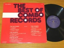"""DOO WOP GROUP LP - VARIOUS ARTISTS - COMBO 1003 -""""THE BEST OF COMBO RECORDS"""" v 2"""