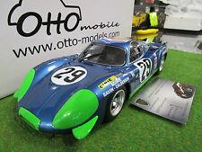 RENAULT ALPINE A220 # 29 LE MANS 1969 AU 1/18 OTTOMOBILE OT157 voiture miniature