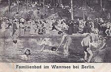 S 29 - Familienbad im Wannsee, 1907 gelaufen, unt. li. leicht geknickt