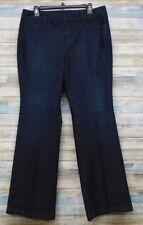 Ann Taylor Loft Jeans 10 x 33 Women's Curvy Flare Stretch  (H-48)