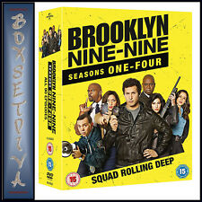 BROOKLYN NINE-NINE - COMPLETE SEASONS 1 2 3 & 4  *BRAND NEW DVD BOXSET***