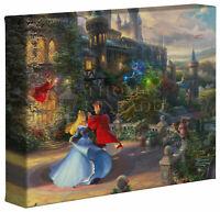Thomas Kinkade Studios Sleeping Beauty Dancing  8 x 10 Gallery Wrapped Canvas