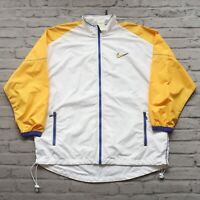 Vintage 90s Nike Swoosh Logo Windbreaker Jacket Youth Size XL