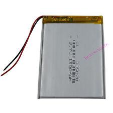 3.7V 1300 mAh Li-Polymer Li Battery Lipo 305070 For Tablet PC GPS PDA PSP iPAQ