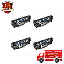 4 Pack Black Toner 104 for Canon imageCLASS D480 MF4150 MF4350D