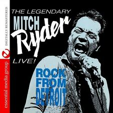 Live! Rock From Detroit - Mitch Ryder (2015, CD NEUF)