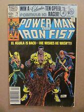 Power Man and Iron Fist #78 Marvel 1974 Series 3rd app Sabretooth