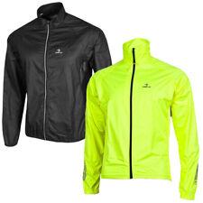 DEKO Men's Cycling Rain Jacket Waterproof High Visibility Running Top Rain Coat