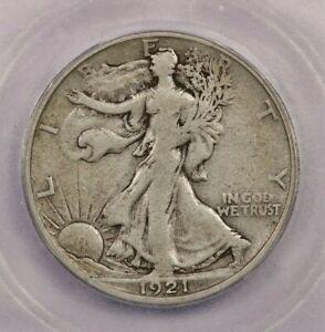1921-S 1921 Walking Liberty Half Dollar 50C ICG VF20