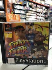 Street Fighter Collection Ita PS1 PSX USATO GARANTITO