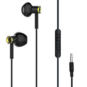 Kopfhörer mit Kabel In-Ear 3,5mm Klinke Klinkenstecker Kabelgebunden Mikrofon