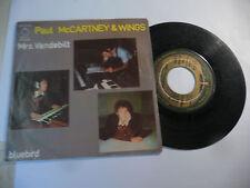 "PAUL McCARTNEY&WINGS"" MRS VANDEBILT- disco 45 giri APPLE Italy 1974"""