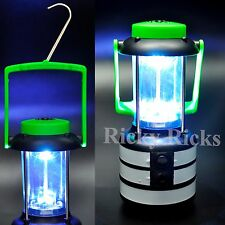 LED Lantern Camping Hunting Fishing Lamp Compass Survival Gear Tent Safety Light