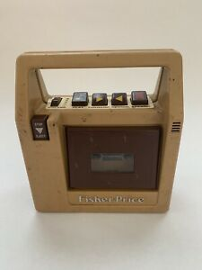 Vintage 1980 Fisher Price Cassette Tape Player Recorder 826