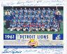 1961 Detroit Lions Team signed 8x10 autographed photo reprint