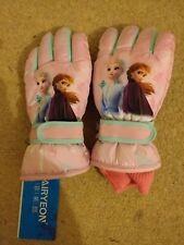 BNWT Frozen Elsa Anna Winter Ski Gloves Age 10 - 14 Years