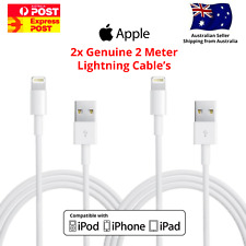 3x MFI Certified Cable Fast Charge 1m for iPhone 12 11 8 7 6 Pro Max X iPad