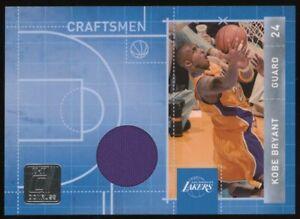 2010-11 Donruss Kobe Bryant Los Angeles Lakers HOF Jersey /299