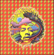 Signed Blotter Art - Jimi Hendrix Special Edition by Jeff Hopp