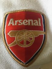 Vintage Nike Arsenal Men's White Polo Shirt Size Large RN 56323 CA 05553
