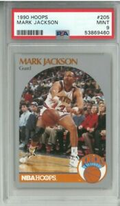 1990 Hoops MARK JACKSON #205 ~ PSA 9 Near Mint - Menendez Brothers