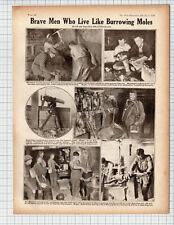 (1978) Australian Tunnelling Company -   World War 1 Antique Book Print