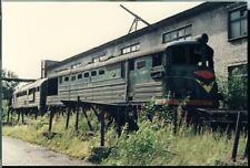 Photo CCCP USSR Soviet Union SZD TE3-4317 Leningrad Russia 1991 original