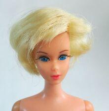 Vintage Barbie TNT Twist 'N Turn MOD Short Fair Hair Blonde Bob Cut