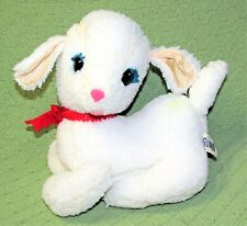 "Vintage J SWEDLIN LAMB Gund Wooly Plush Stuffed Animal 10"" 1971 Collectible Toy"