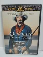 Quigley Down Under (DVD, 2001) Tom Selleck, OOP, Out of Print