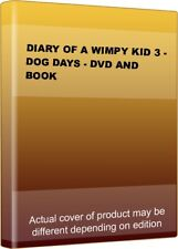 DIARY OF A WIMPY KID 3 - DOG DAYS - DVD AND BOOK.