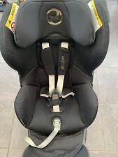 Cybex Sirona Group 0 /1 Car Seat, Stardust Black. Swivel 360, Isofix