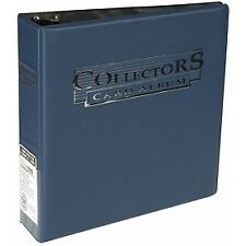 Collectors Album 3 Ring Binder Ultra Pro Card Storage for A4 Pages Blue