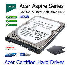 "160GB Acer Aspire 5100 2.5"" SATA Laptop Hard Disk Drive HDD Upgrade Replacement"