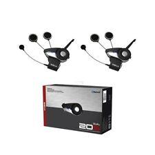 SENA SMH20S Dual Motorcycle Bluetooth Headset & Intercom DUAL Set - SMH20S01D