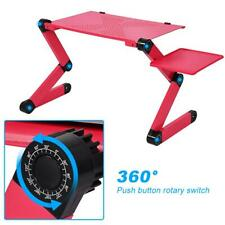 Portable Foldable Laptop Computer Notebook Table Stand Desk Bed Tray Red CO