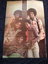 VINTAGE JACKSON 5 FIVE Michael Jackson POSTER-UNUSED NEW OLD STOCK