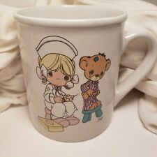 Precious Moments Love Beareth All Things Nurse Bear 1994 Mug coffee tea