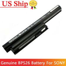Genuine Original Sony Vaio VPCEH16EC VGP-BPS26A Battery 11.1V 5300mAh 59Wh
