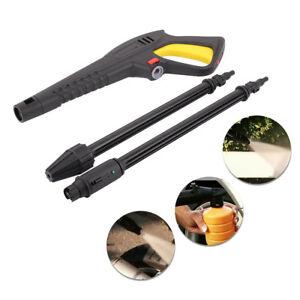High Pressure Washer Trigger Gun/Turbo/Variable Lance Spray Nozzle