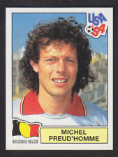 Panini - USA 94 World Cup - # 283 Michel Preud'Homme - Belgique (Blue Back)