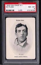 1906 Fan Craze A.L. Eddie Plank Athletics Nm-Mt PSA 8 POP 5