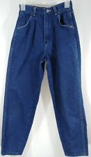 Rustler Size 8 High Waist Mom Jeans 70s Tapered Leg Vintage Misses 762MPW5