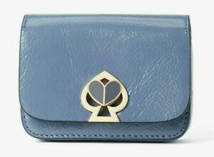 Kate Spade nicola patent twistlock micro crossbody Belt Bag Charm Clutch ~NWT~