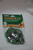 World Famous shock cords 20 inches ( 2 per package ) green ( store#bte25 )