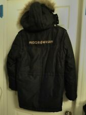 Rocawear Coat Removable Faux Fur Hood collectible rare authentic