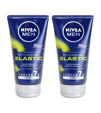 2xPack NIVEA MEN Elastic Hair Gel Extra Strong Fixation - 300 ml *GERMANY*
