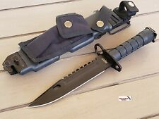 M9 Bayonet Tactical Holster Survival Combat Fighting Knife Rescue Sheath Fixed