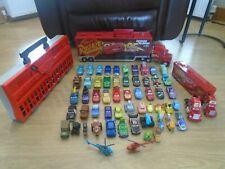 Large Disney Pixar Diecast Cars Bundle, Mack Truck Carry Case, Bachelor Pad